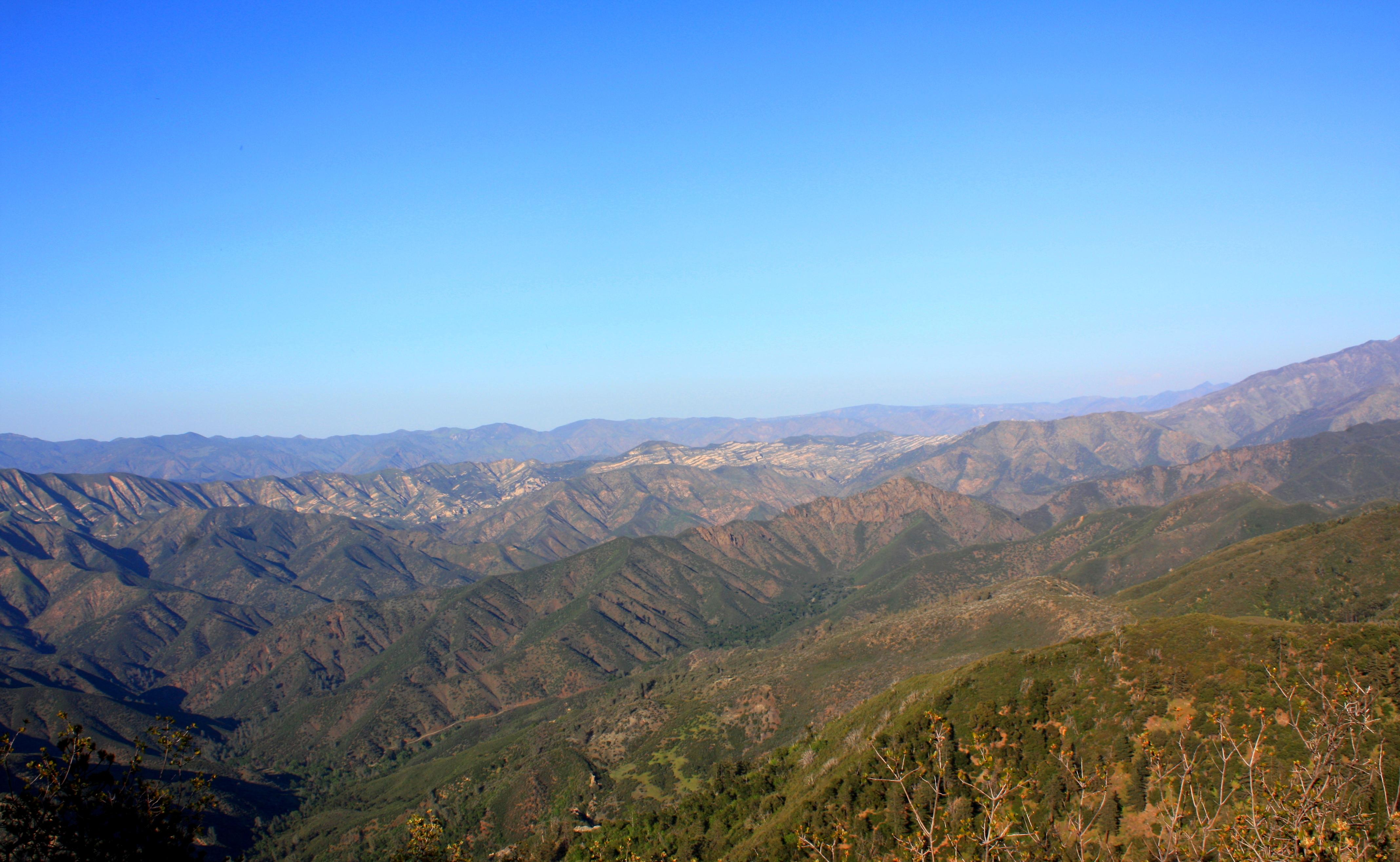backcountry view from figueroa mountain peak jack elliott s santa
