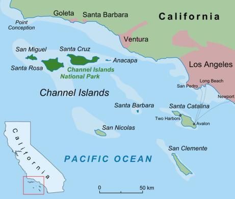 Santa Barbara Channel Islands