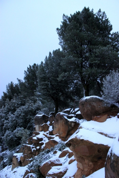 La Cumbre Peak snow 2.1