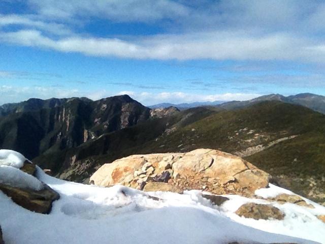 White Ledge summit