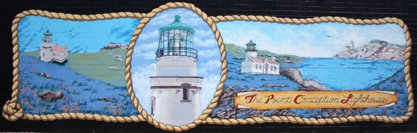 Point Conception Lighthouse mural Lompoc