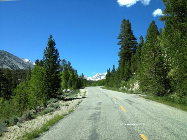 Sierra Nevada Mountain Road