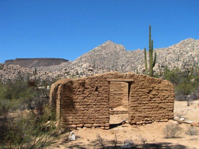 Desert adobe Mexico