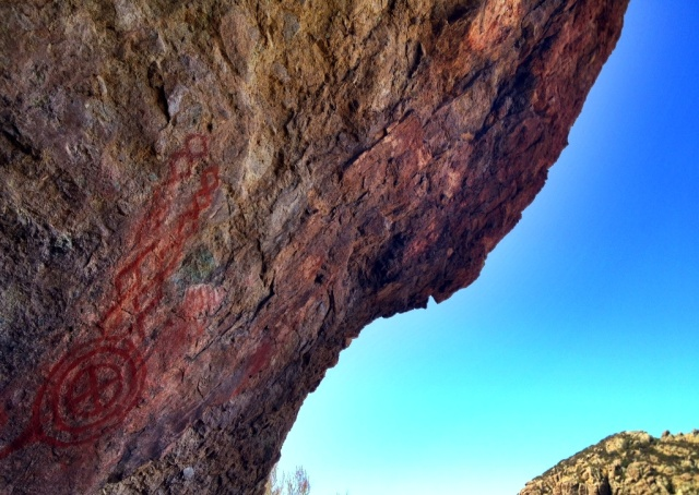 rock art pictographs