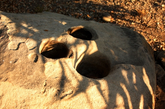 chumash bedrock mortar