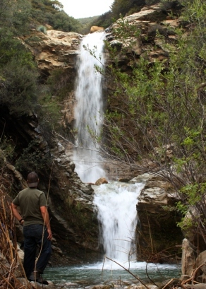 Matilija waterfalls
