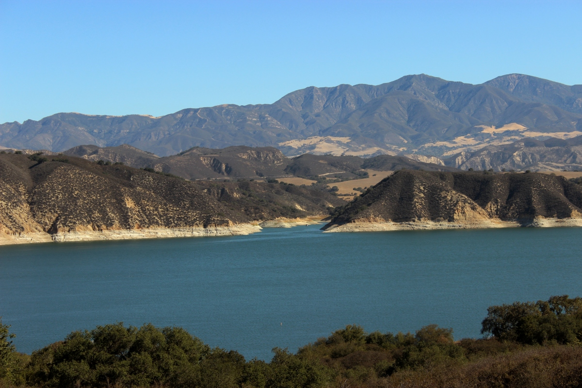 Deluge and drought in santa barbara county jack elliott for Lake cachuma fishing report