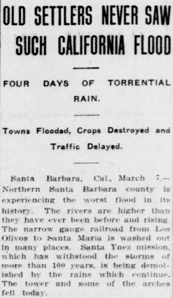 Santa Barbara County floods