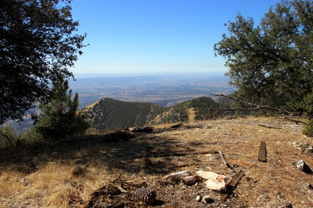Zaca Peak summit view