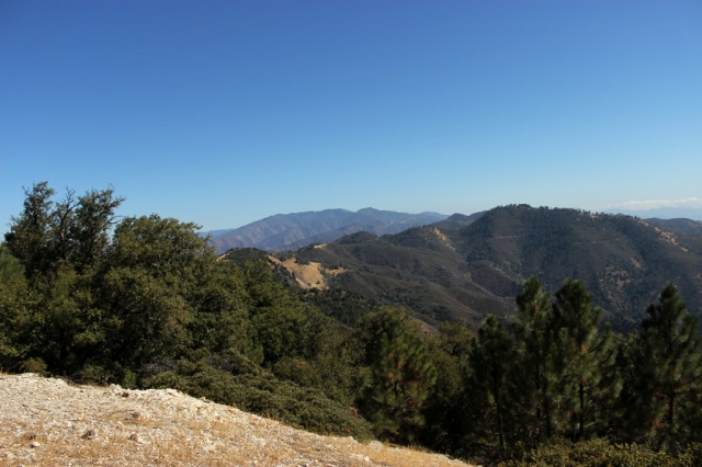 Zaca Peak view Figueroa Mountain