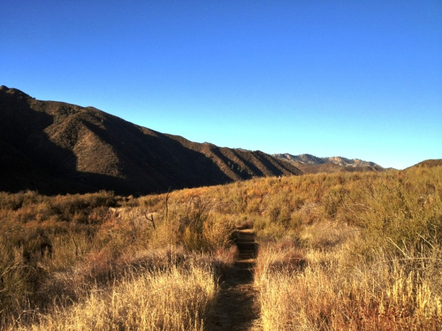 Lost Valley Trail San Rafael Wilderness
