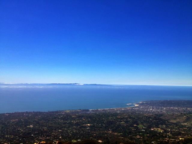 San Ysidro Peak view Santa Barbara