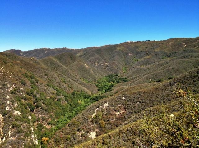 Santa Ynez Mountains San Ysidro Trail