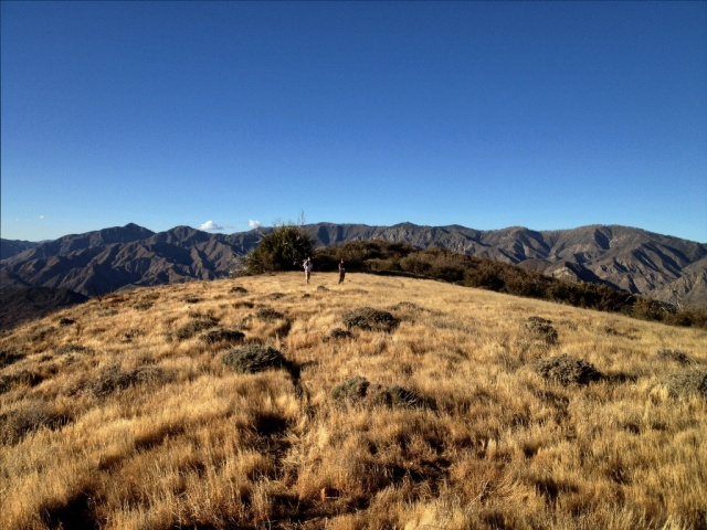 Whiteacre Peak Sespe Wilderness hike