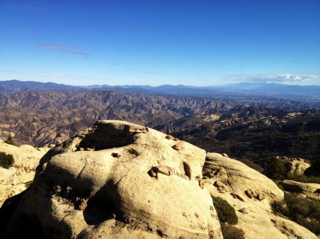 Whiteacre Peak Sespe Wilderness view