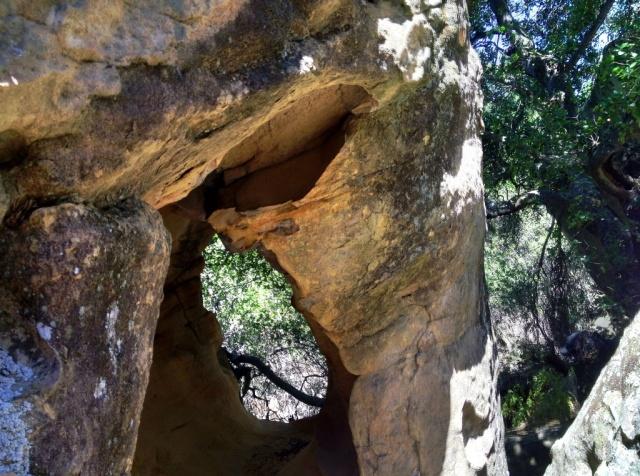sandstone cave