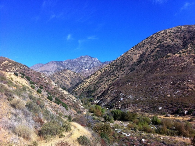 San Rafael Peak, Hot Springs Canyon, Sespe Wilderness