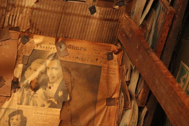 Burro Schmidt cabin newspaper 1936