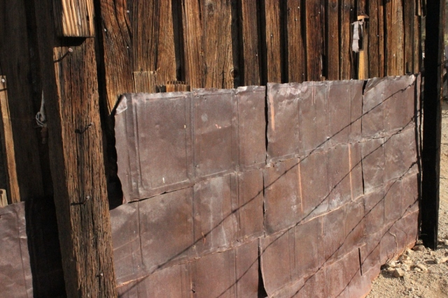 Burro Schmidt cabin tin siding