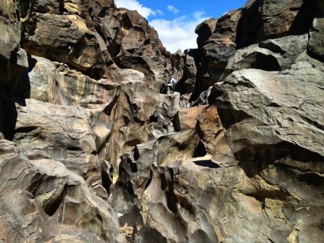 Fossil Falls California