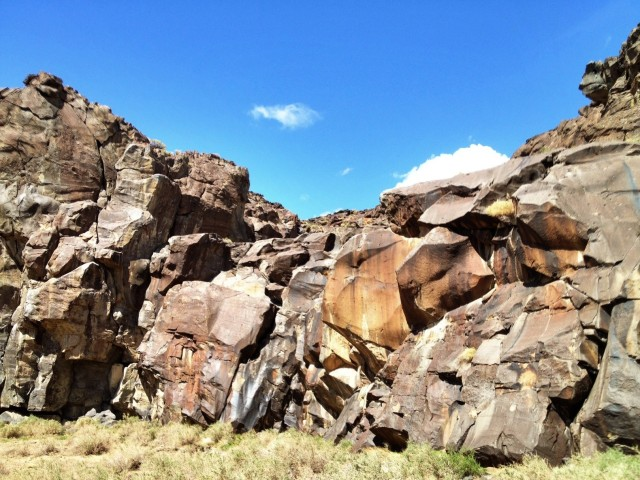 lower Fossil Falls