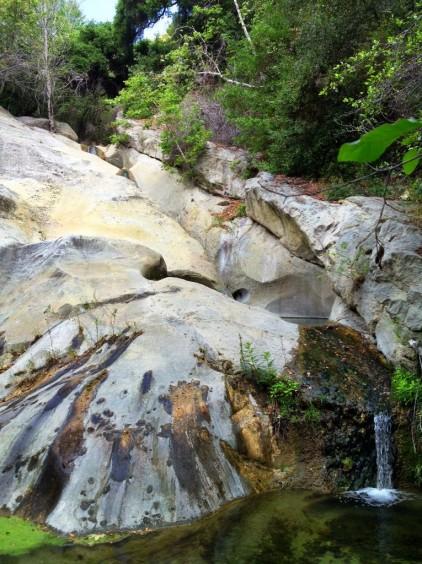 Santa Barbara swimming holes Tear Drop