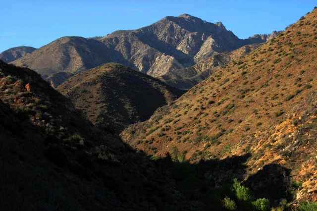 Sespe Hot Springs Canyon San Rafael Peak