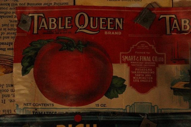 tomato can label smart and final historic