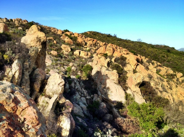 Devil's Playground Santa Ynez Mountains hiking