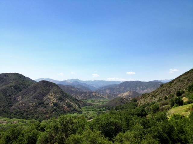 Mono Creek canyon