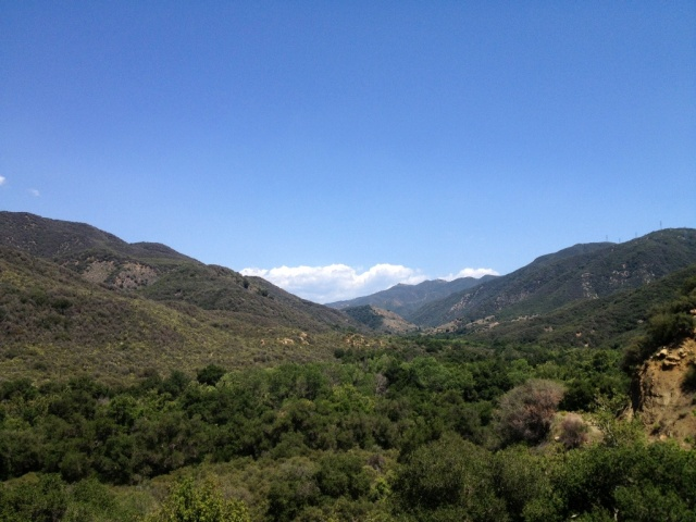 Upper Santa Ynez River valley Juncal