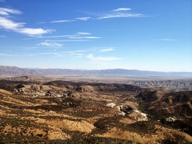 Cuyama Valley Lion Canyon Caliente Range