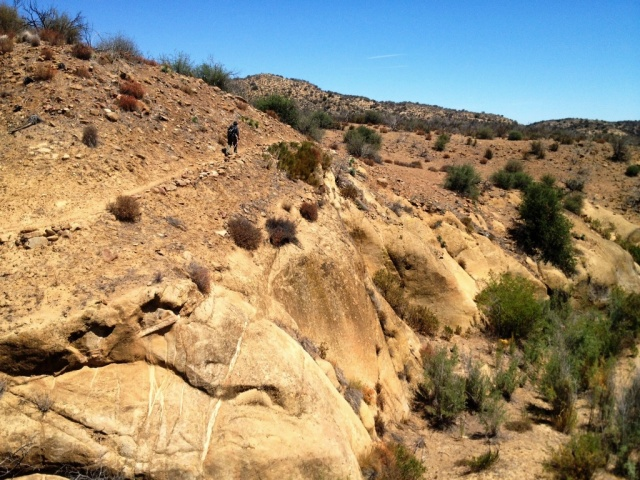 Lion Canyon hike Sierra Madre Cuyama