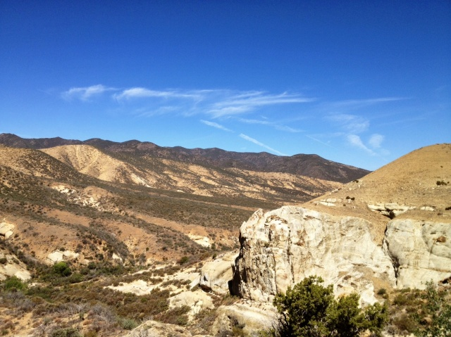 Lion Canyon Sierra Madre Mountains Cuyama