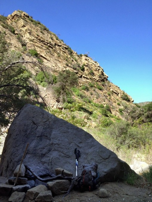 Mono Creek Narrows camp hike