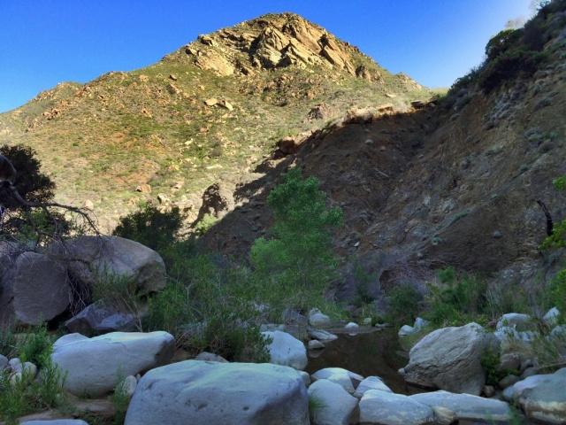Mono Creek near Alamar Hill