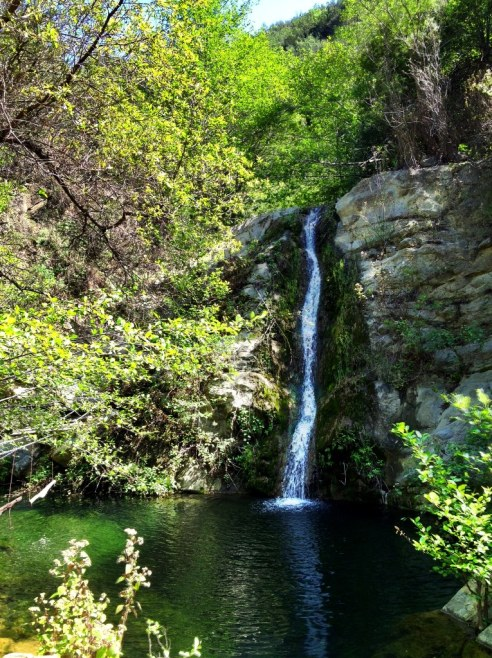 Santa Ynez Mountains secret swimming hole