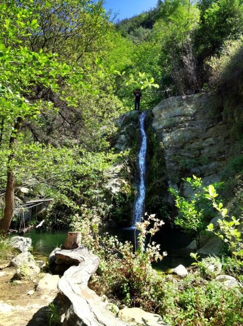 Santa Ynez Mountains swimming hole