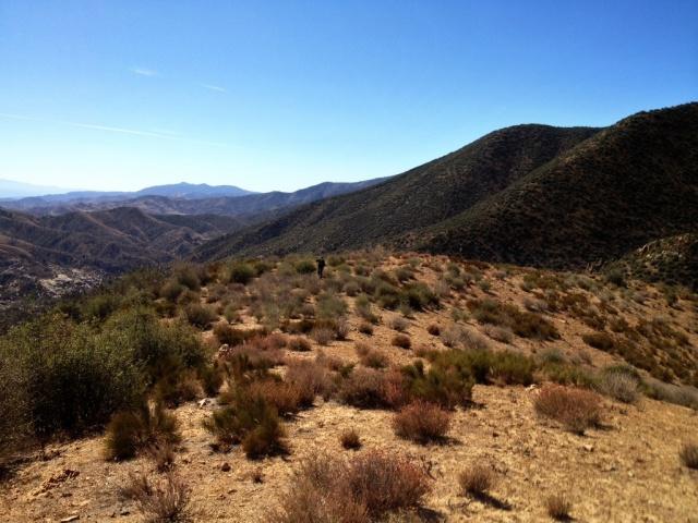 Sierra Madre Mountains David Stillman hiking Cuyama