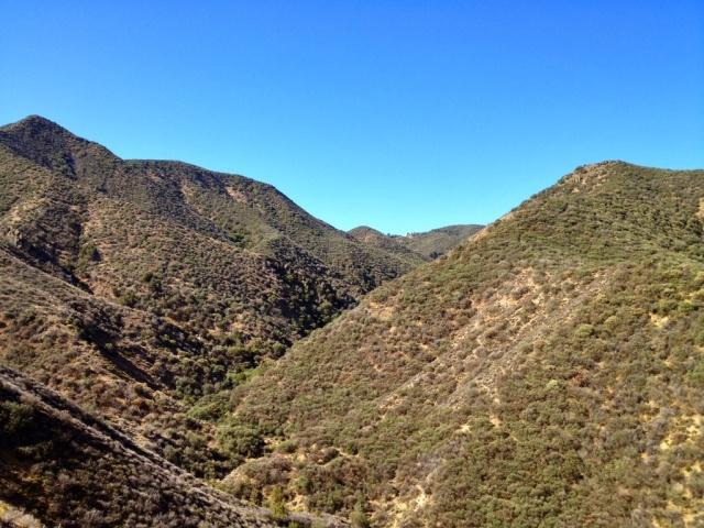 Sierra Madre Mountains Santa Barbara County