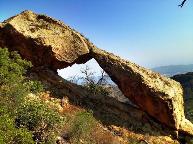 Barger Arch Santa Barbara Hiking