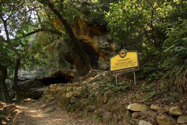 Santa Barbara Chumash Painted Cave State Historic Park