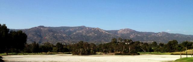 Santa Barbara Hope Ranch Laguna Blanca dry drought