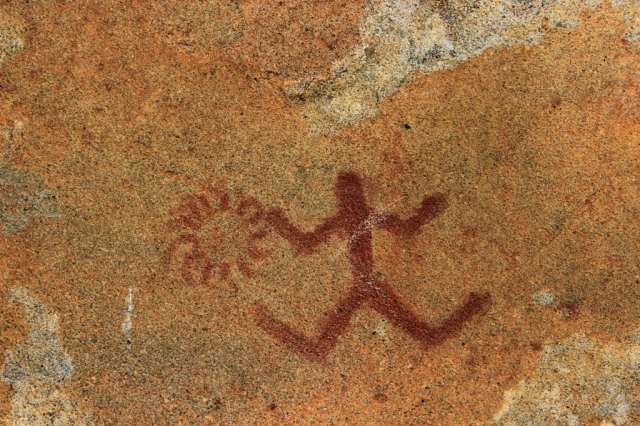 Chumash Yokut Salinan rock art pictographs San Luis Obispo County