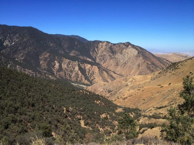 San Emigdio Canyon upper