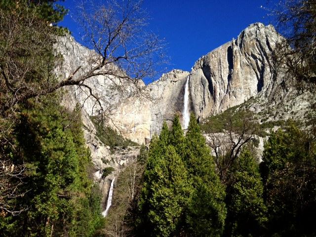 Lower and Upper Yosemite Falls
