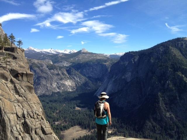 Upper Yosemite Falls view