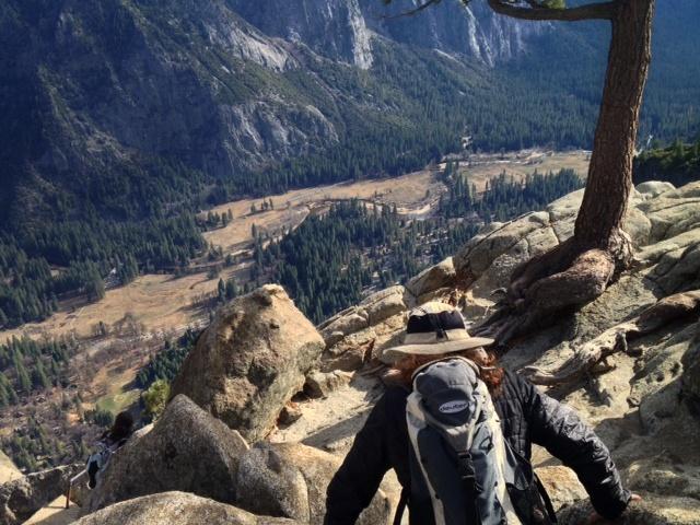 Yosemite Falls Hiking