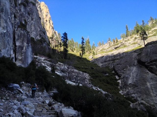 Yosemite Hikes Waterfalls
