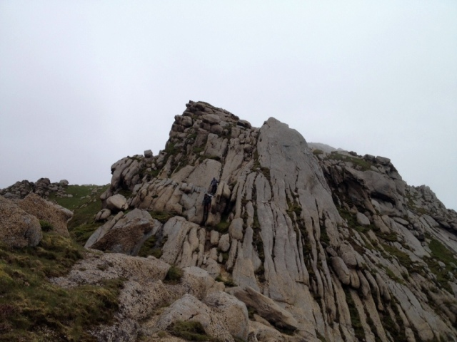 Goatfell Peak Isle Arran Scotland hillwalking hikes